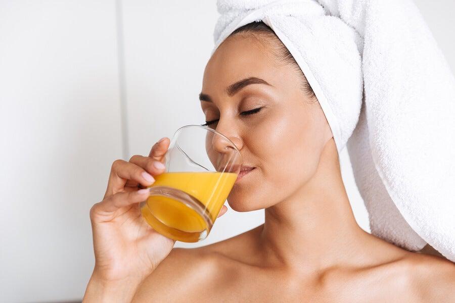 Dieta sana y cuidado de la piel