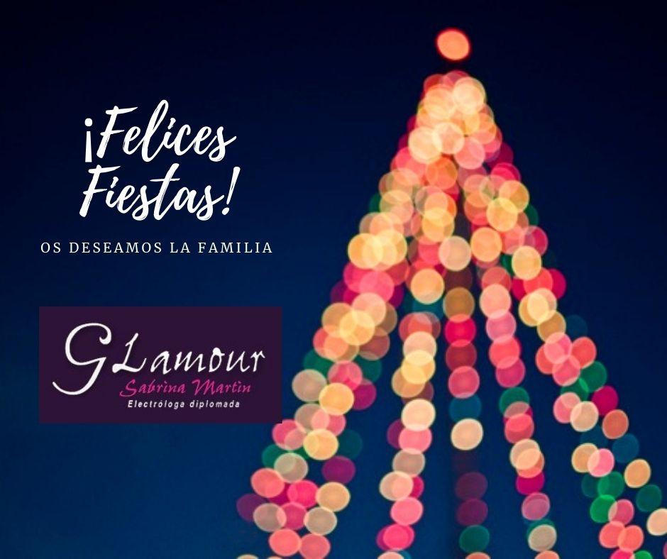 ¡Felices Fiestas! depilación glamour
